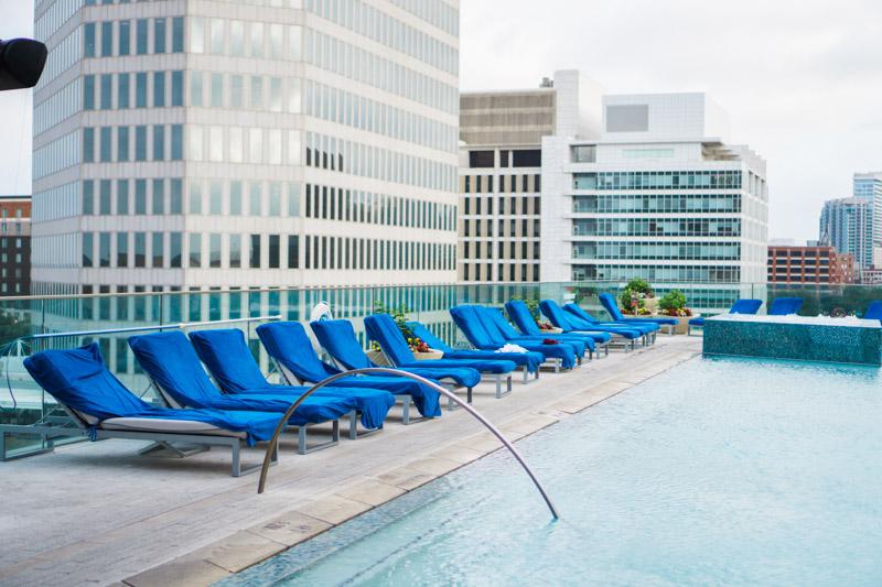Omni Dallas Rooftop Pool