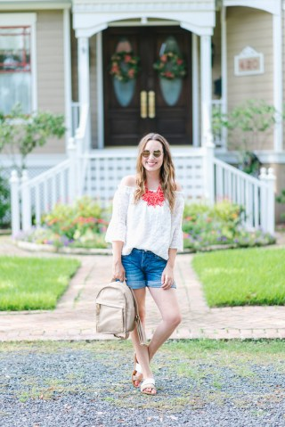 Houston fashion blogger Alice Kerley.