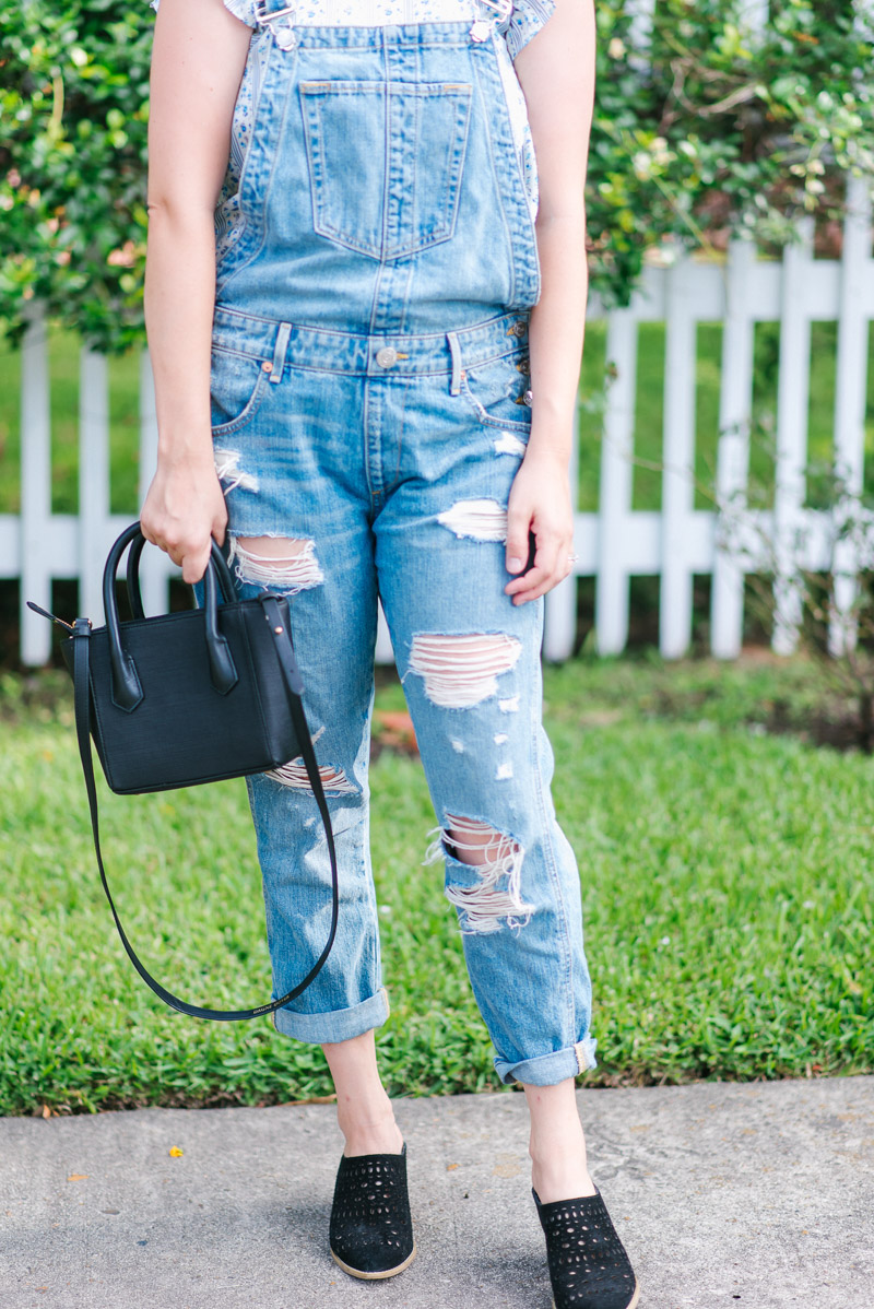 How to style overalls while still looking chic.