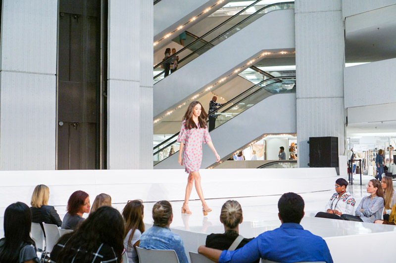 Atlanta Apparel spring trend fashion show at AmericasMart.
