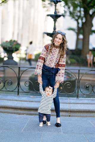 Texas blogger takes a mother daughter trip to NYC for New York Fashion Week.