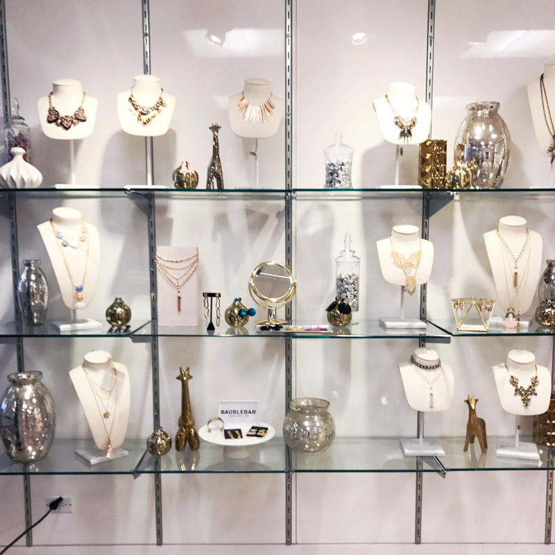 BaubleBar Showroom in New York City.