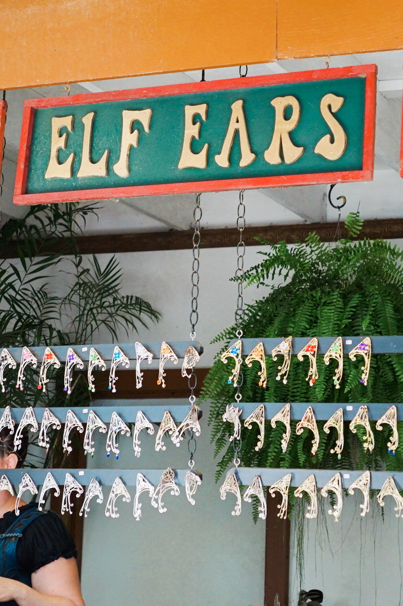Elf Ears at the Texas Renaissance Festival