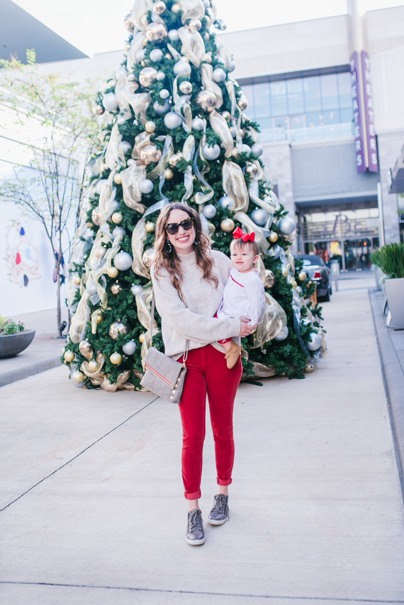 Anthropologie Corduroy Skinnies, Hammit VIP Crossboyd, Little Me Christmas Outfit, Leith Gray Sweater
