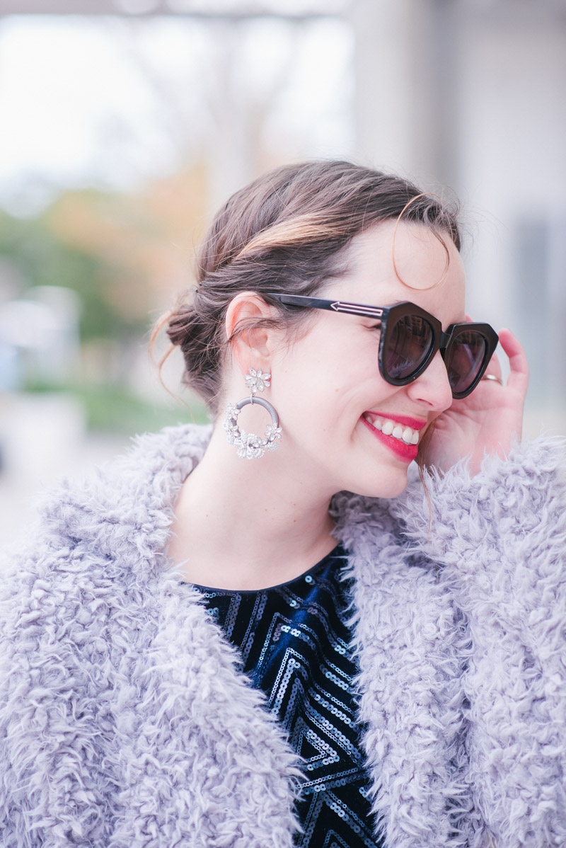 BaubleBar Statement earrings for New Year's Eve