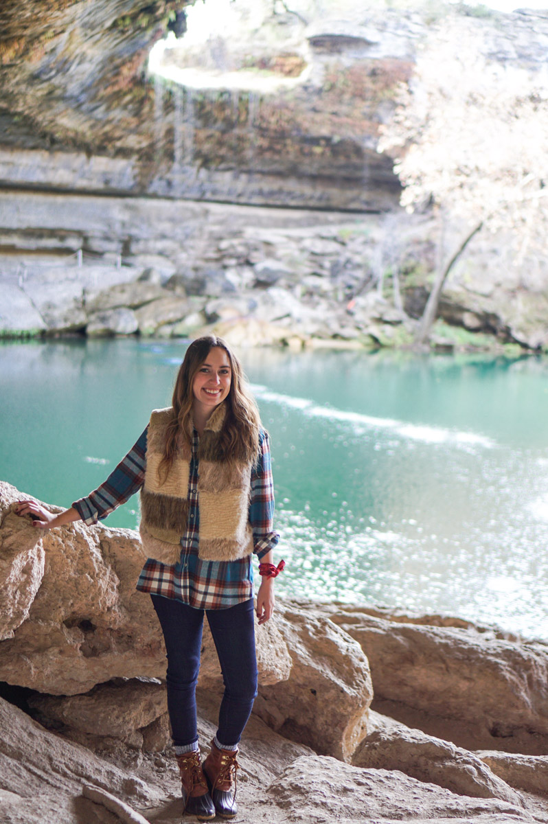 Hamilton Pool in Texas Hill Country