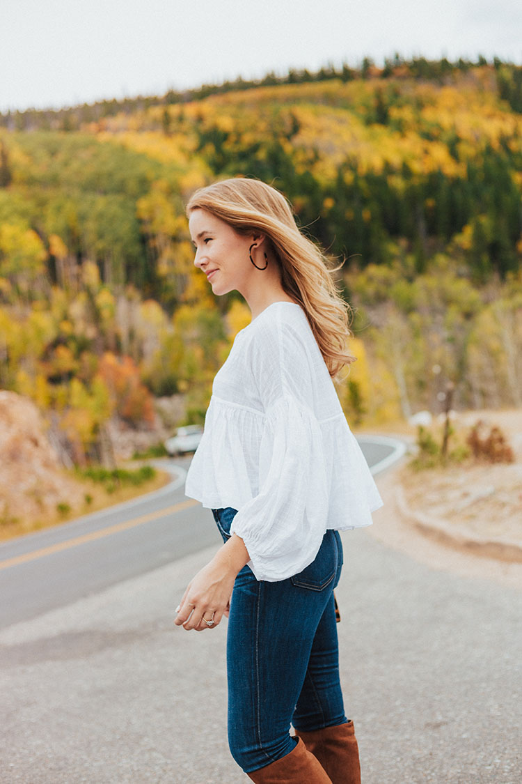 free people beaumont peasant blouse