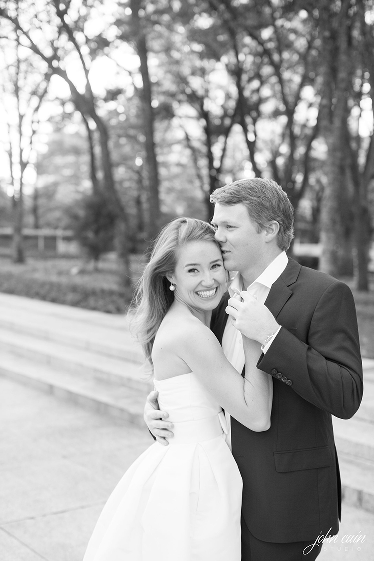 lonestar southern engagement photos, alexia maria dress, john cain photography, preppy, classic