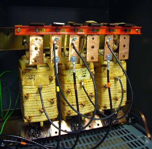 Data Center Transformer - Insides of One