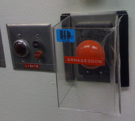 """Armageddon, or """"Don't Push This Button"""""""