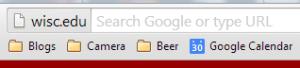 Chrome Origin Chip in Address Bar Omnibox