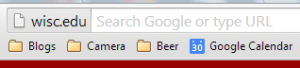 Chrome Origin Chip in Address Bar Omnibox