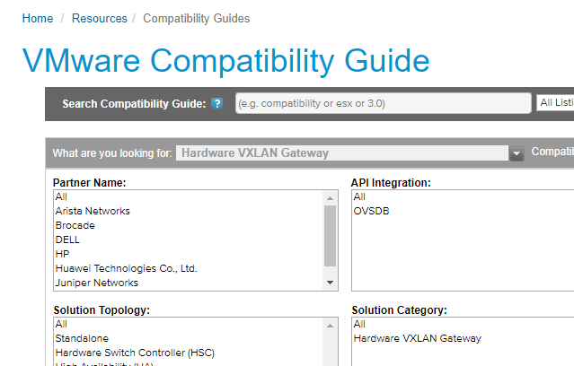 No VMware NSX Hardware Gateway Support for Cisco - The Lone Sysadmin