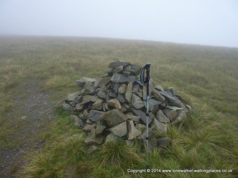 Fell Head summit cairn