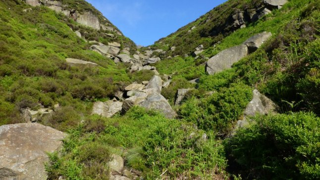 The head of Jaggers Clough