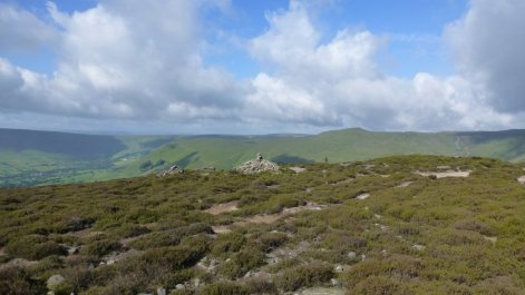 Views across to the rest of the High Peak and more of today's walk
