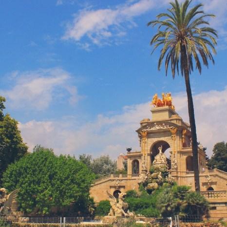 Cascada Monumental, Barcelona, Spain