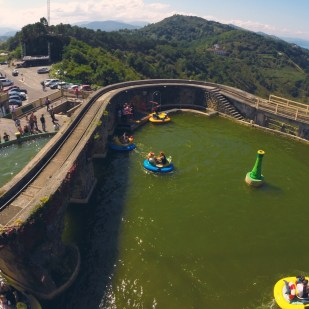 Mount Igueldo Amusement Park, San Sebastian, Spain