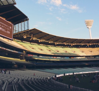 The MCG turns itself into an open air cinema for Cinema at the G