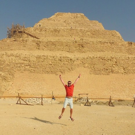 Step Pyramid of Djoser, Cairo, Egypt