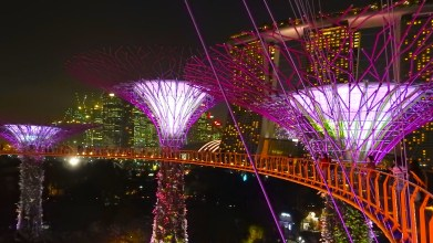 Gardens by the Bay, Marina Bay Sands, Singapore