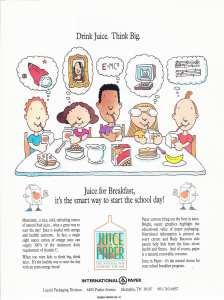 Drink Juice. Think Big2