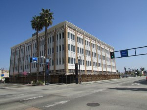 Former headquarters of the Long Beach Press Telegram