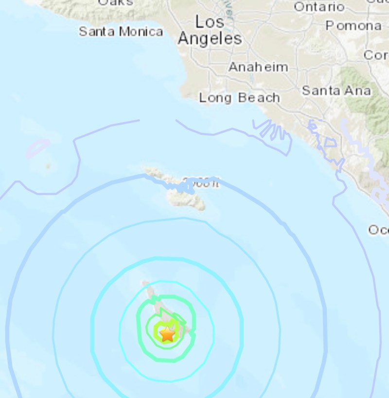 Did You Feel It? 2 Earthquakes Strike Off Southern California Coast