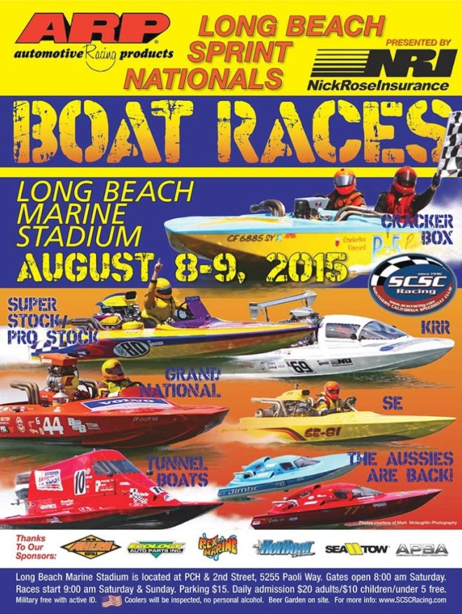 The Long Beach Sprint Nationals boat race