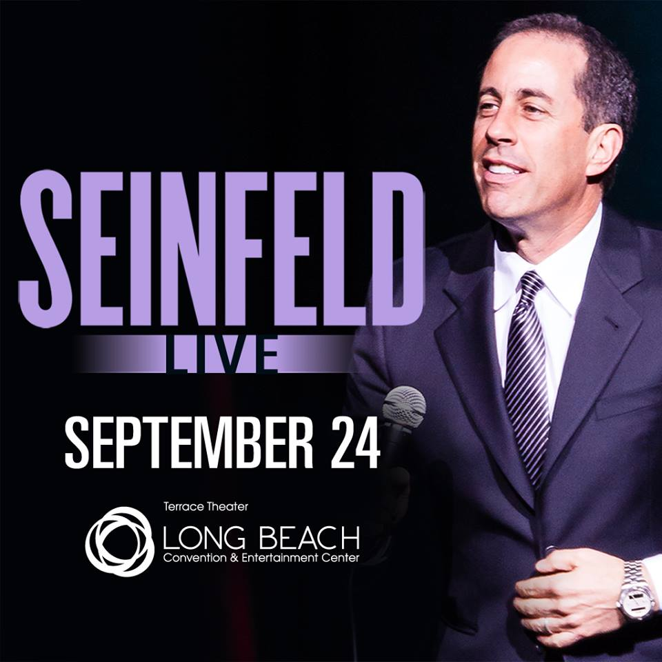 Jerry Seinfeld To Appear On Stage In Long Beach