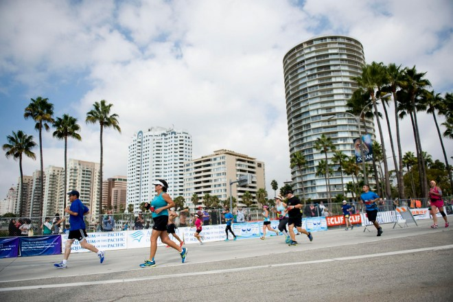 long beach marathon runners