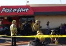 Car Slams Into Pizza Hut After 4 Car Collision Orange Ave. and Market Street