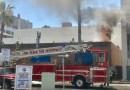 VIDEO: Long Beach Fire Department battle structure fire in Downtown Long Beach