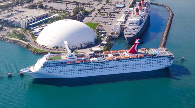 Carnival Cruise Line And City Of Long Beach Start Renovations At The Long Bea