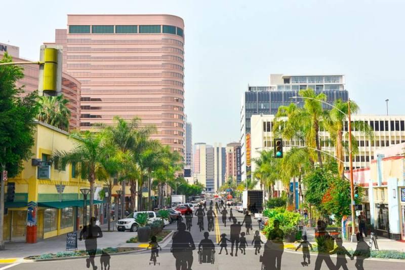 beach streets downtown long beach ca