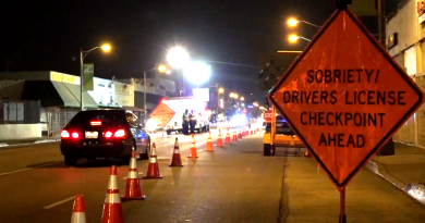 DUI/Driver's License Checkpoint Planned By LBPD This Weekend