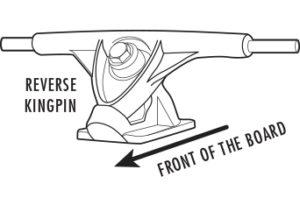 Longboard Trucks Reverse Kingpin