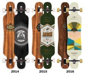 arbor genesis longboard complete