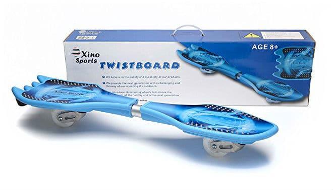 Deluxe Junior Caster Board in Amazing Blue Color