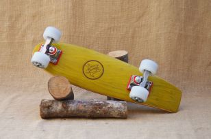 Hurtle Skateboards One Off Yellow
