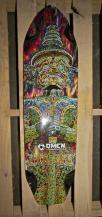 Omen Longboards Spawn Warrior Graphic
