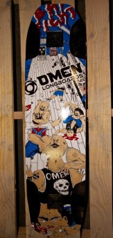 Omen Longboards Barfight 9""