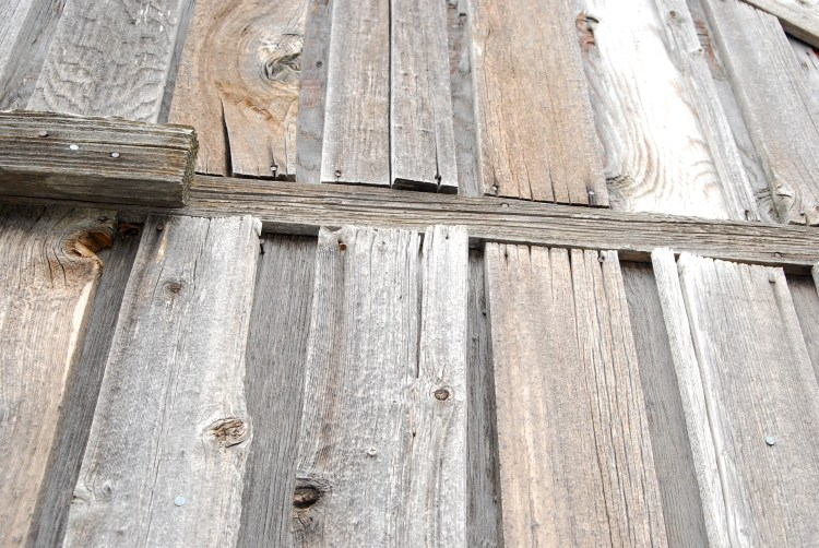 Repairs on outside of barn
