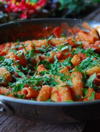 Sausage Pasta with Quick Marinara