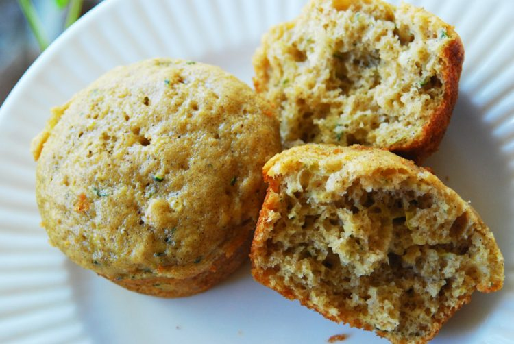 These are the best zucchini bread muffins! They are light and airy, not dense and greasy. This recipe will turn out every time you make it!