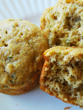 The Best Zucchini Bread Muffins!