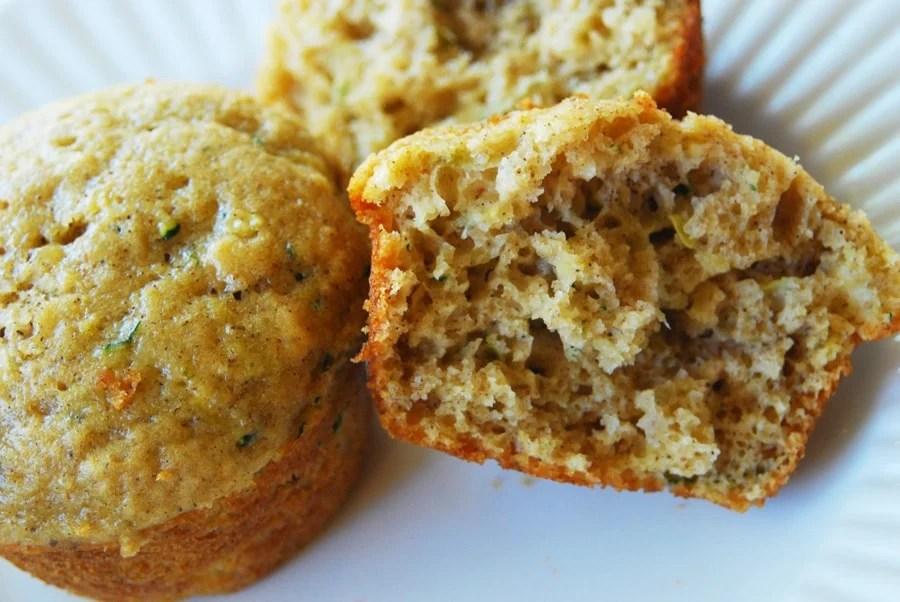 best zucchini bread muffins • longbourn farm