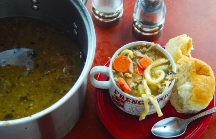 Chicken Noodle Soup From Scratch