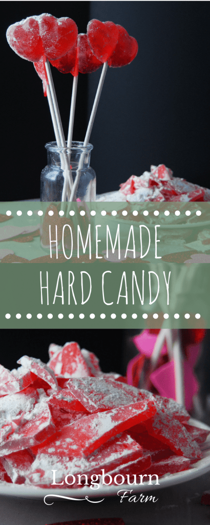 Homemade hard candy isn't hard to make! Just follow this easy hard candy recipe and the step-by-step instructions. Changing the flavor of the homemade candy is simple and delicious!