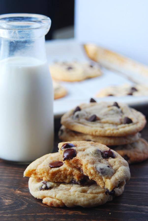 Homemade chocolate chip cookies!